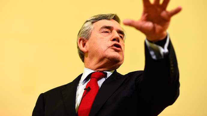 ​Former PM Gordon Brown to resign from parliament