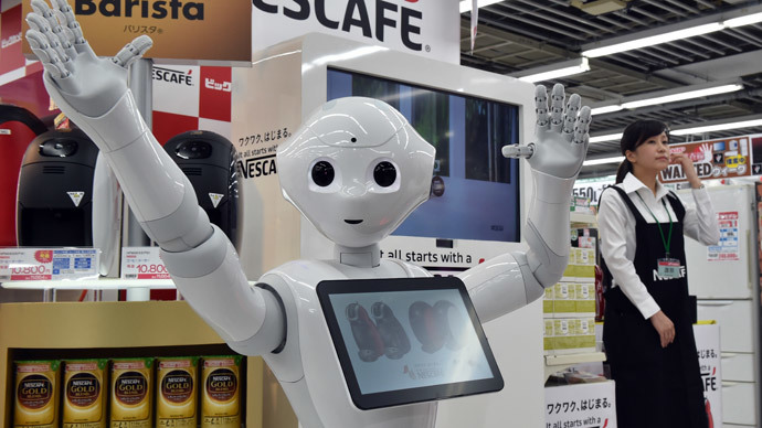 Always Be Chatty: Japanese robot Pepper will sell you a coffee machine… with a smile