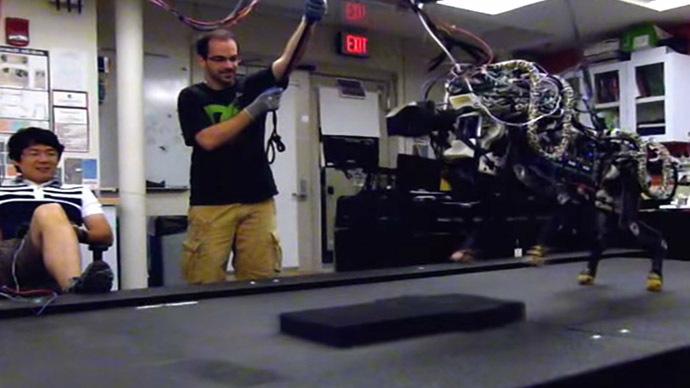 Pentagon's DARPA funds unprecedented 'Ferrari' of robotics (VIDEOS)