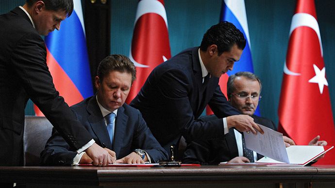 Gazprom to build new 63 bcm Black Sea pipeline to Turkey instead of South Stream