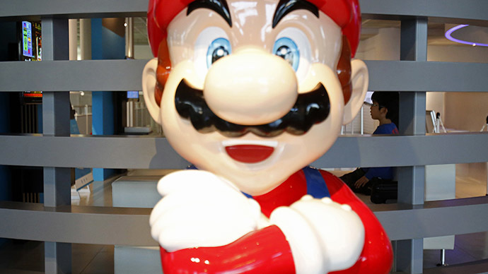 Super Mario to the rescue: Mask-wearing plumbers restore water to Italian homes