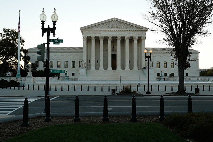 A general view of the U.S. Supreme Court building. (Reuters/Jonathan Ernst)