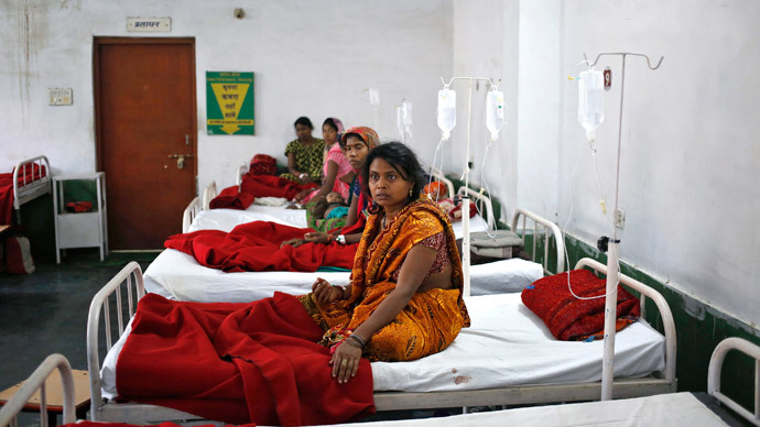 Bicycle pumps, reused needles & gloves: Hideous Indian sterilization ops revealed