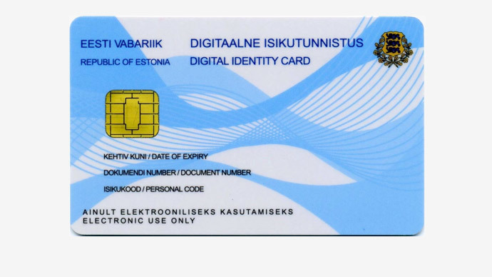 Estonia issues 1st electronic residency card to UK journalist