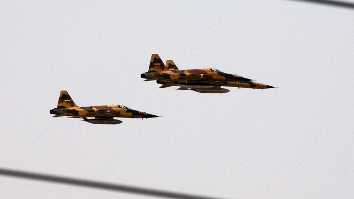US claims Iran is bombing ISIS in Iraq