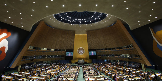The UN General Assembly (AFP Photo)