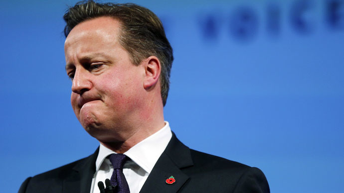 #CameronMustGo viral on Twitter, outstrips Scottish independence #VoteYes