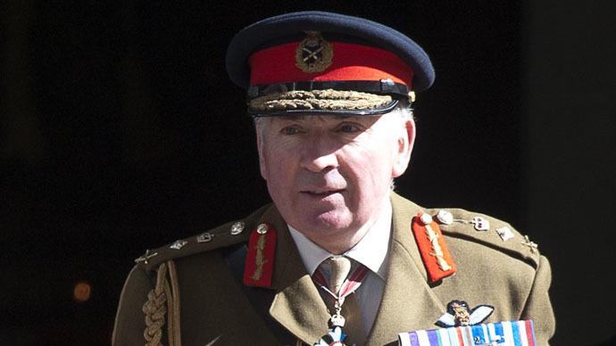 General Lord Dannatt (AFP Photo)