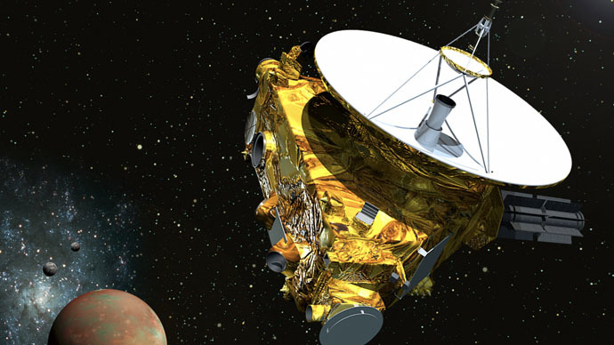 NASA Pluto probe wakes up after 9-year slumber in space