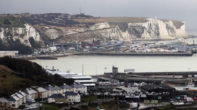 11 Syrian & 2 Afghan migrant children found hiding in Dover tanker
