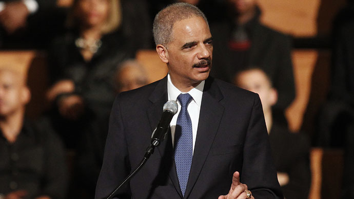 Holder promises to end racial profiling 'once and for all'