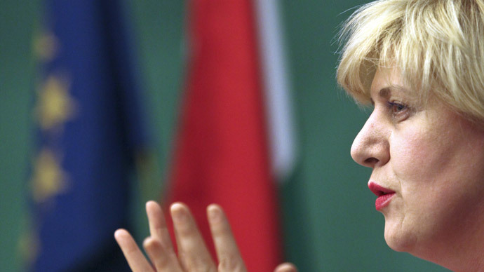 Dunja Mijatovic.(AFP Photo / Balint Porneczi)