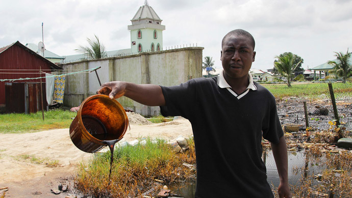 Nigerian communities reeling from massive Shell oil spill (PHOTOS)