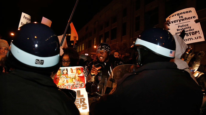 Protesters decry Eric Garner grand jury vote