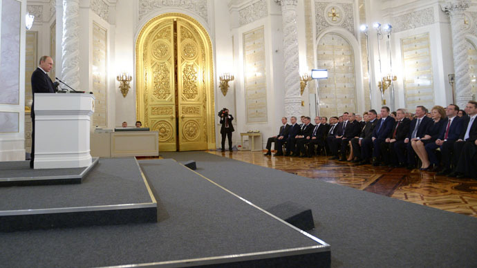 State of the Nation: President Putin addresses Federal Assembly