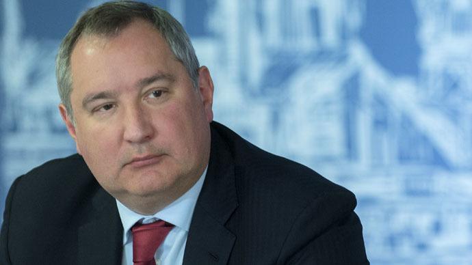 Russian Deputy Prime Minister Dmitry Rogozin (RIA Novosti/Sergey Guneev)