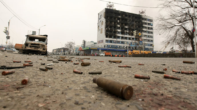 10 police killed, 28 injured in Grozny anti-terror operation (EXCLUSIVE VIDEO)