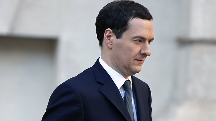 Britain's Finance Minister George Osborne (AFP Photo)