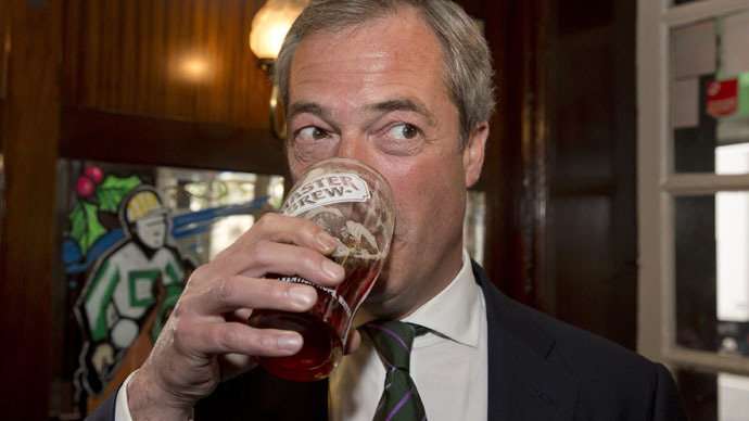 Farage claims: 'I'm the poorest man in politics'
