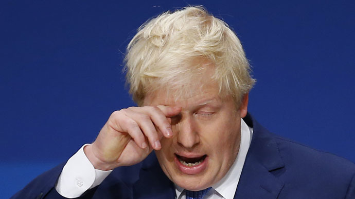 Bust up! London Mayor Boris Johnson tries to tame drunkard on Malaysia flight