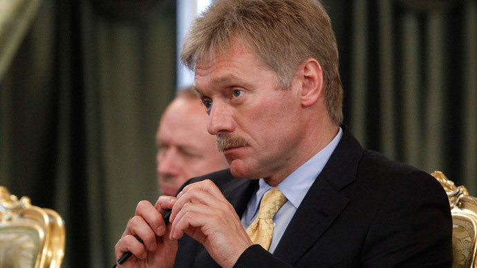 Russia's President Vladimir Putin's spokesman Dmitry Peskov.(Reuters / Maxim Shemetov)