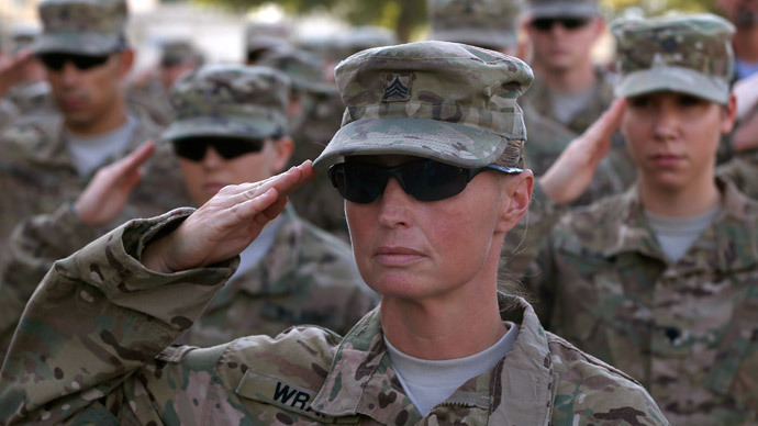 Almost 6,000 military employees reported sexual assault last year - Pentagon