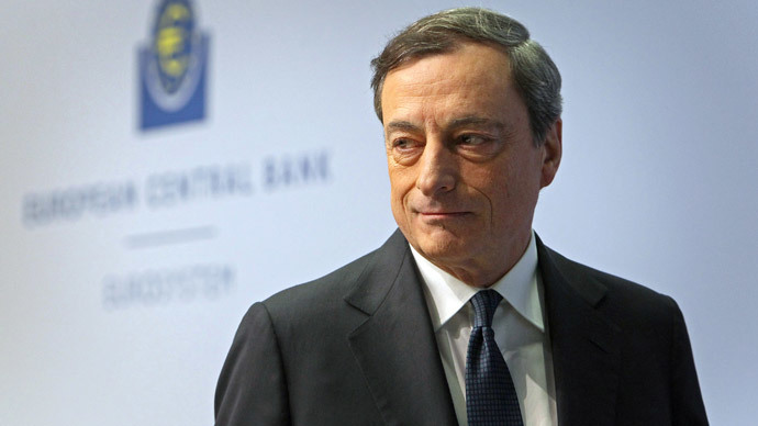 ECB close to printing money to battle spiraling deflation