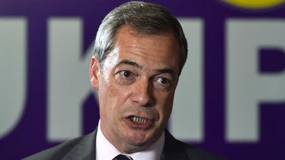 Farage defends UKIP activist's racist, homophobic comments