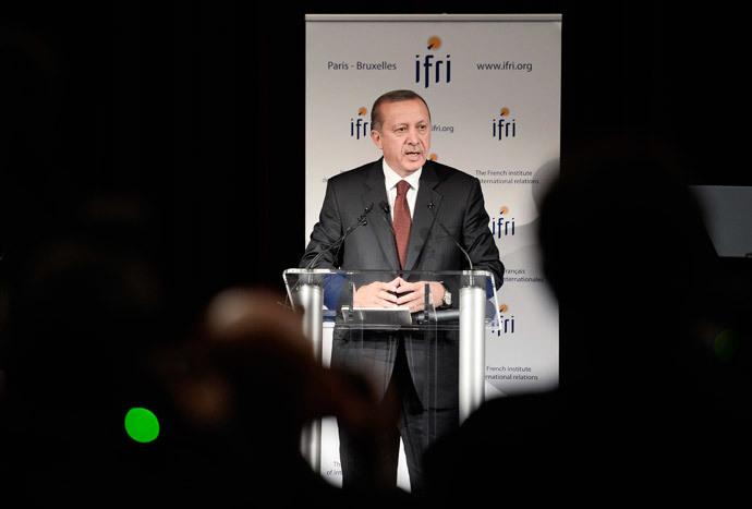 Turkish President Recep Tayyip Erdogan (AFP Photo / Stephane De Sakutin)