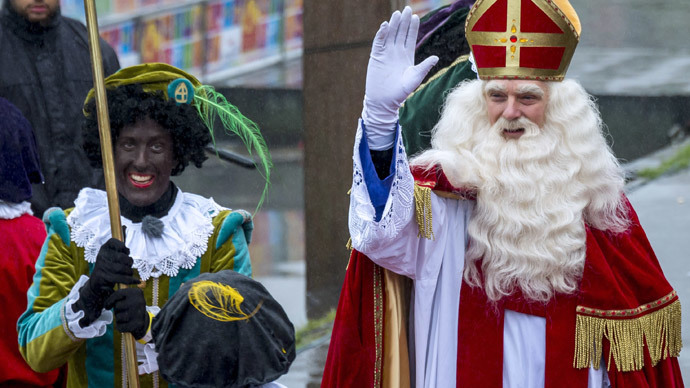 Is Dutch Santa racist? Or a joke others just don't get...