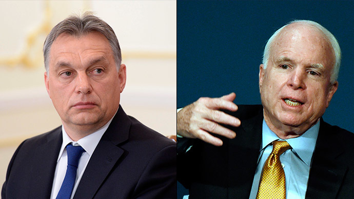 'National independence under attack': Hungary's PM answers McCain's remarks