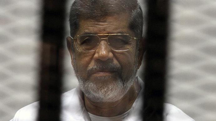 Egyptian ousted Islamist president Mohamed Morsi. (AFP Photo/Tarek El-Gabass)