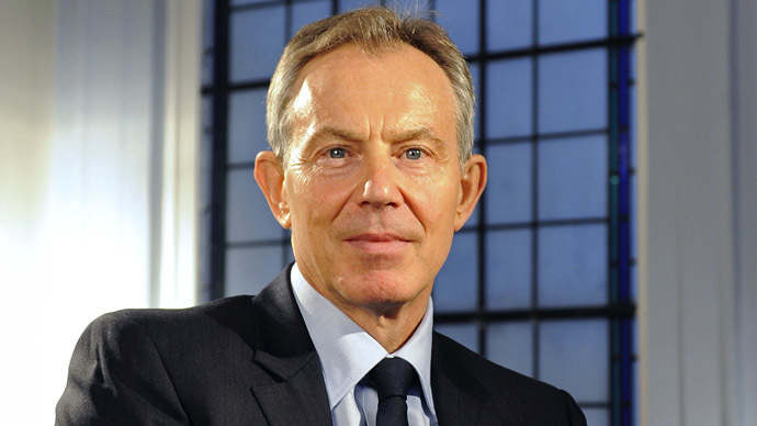 Britain's former Prime Minister, Tony Blair, has been issed a 'Philanthropist of the Year' award by GQ magazine. (Reuters/Toby Melville)