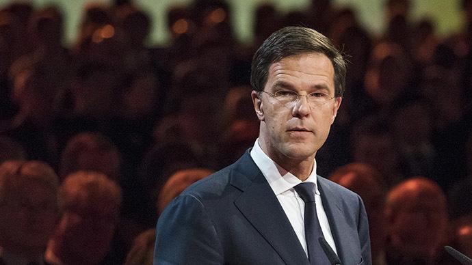 Netherland's Prime Minister Mark Rutte (AFP Photo/Frank Van Beek)