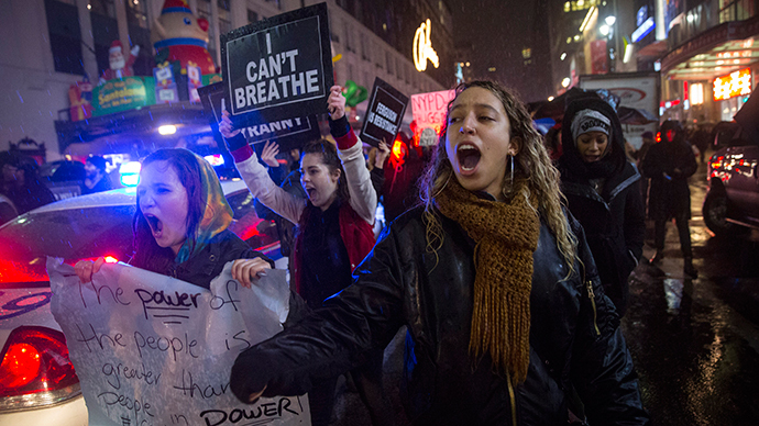 'Govt created a monster': 1000s protest police violence across US for 3rd night (PHOTOS)
