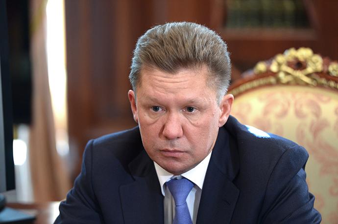 Gazprom CEO Alexey Miller (RIA Novosti / Aleksey Nikolskyi)