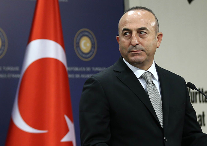 Turkish Foreign Minister Mevlut Cavusoglu (AFP Photo/Adem Altan)