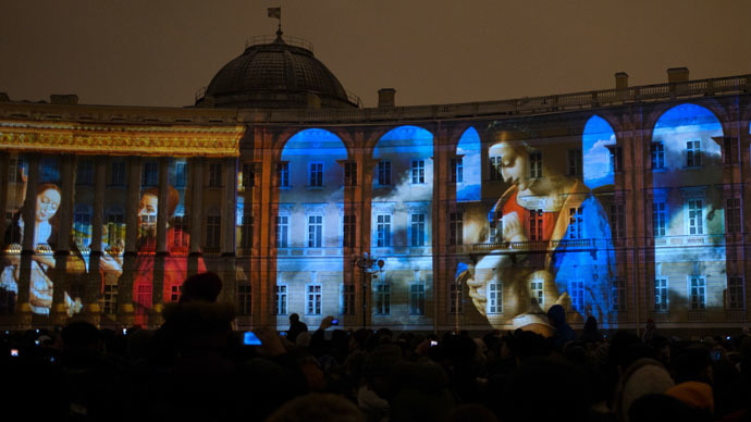 250 years of splendor: Dazzling 3D show kicks off Hermitage celebrations