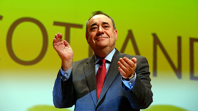 Quick comeback: Ex-SNP leader Alex Salmond to stand for UK parliament