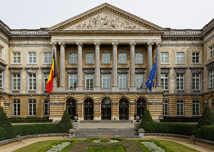 Belgian Federal Parliament, Palace of the Nation, Brussels (Image from wikipedia.org)