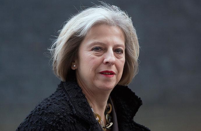Britain's Home Secretary Theresa May (Reuters / Neil Hall)