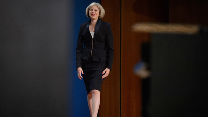 British Home Secretary Theresa May (AFP Photo / Leon Neal)