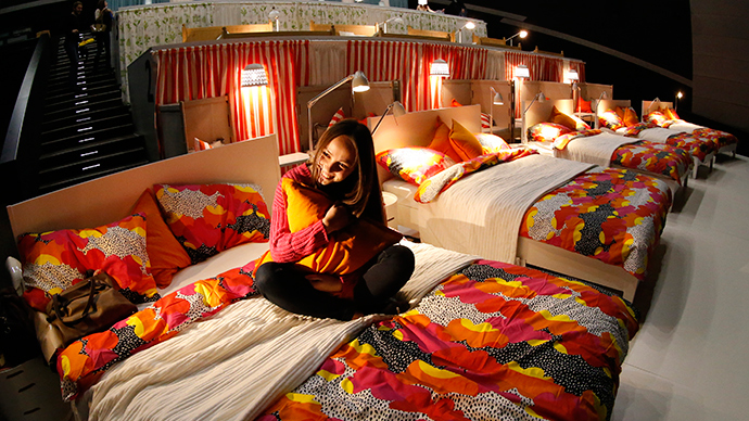 Cinema of Love: Movie bed-fest in luxury Moscow mall