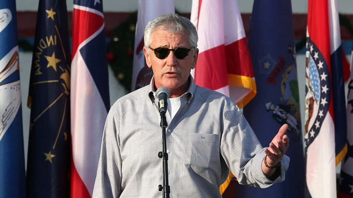 Hagel defends raid that ended with death of two hostages