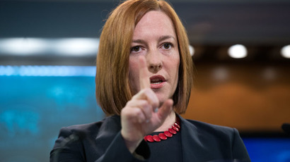 Psaki wiggles out of RT's Ukraine ceasefire question, bluntly blames Russia (VIDEO)