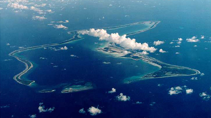 UK Foreign Territory, Diego Garcia. (Reuters)