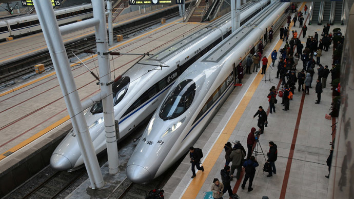 China opens 32 high-speed rail routes in grand expansion