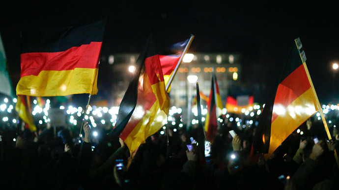Thousands in Dresden rally against Islamization, call for Western values