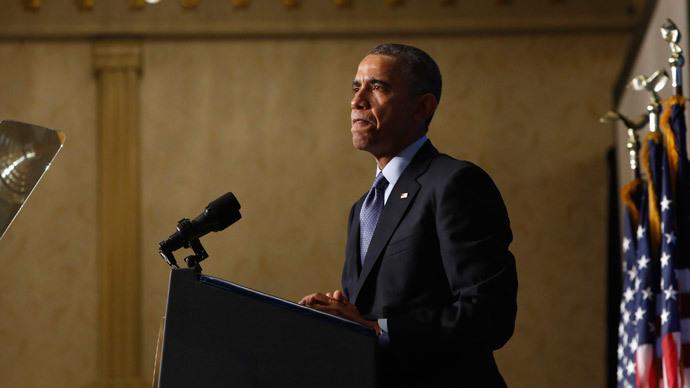 U.S. President Barack Obama.(Reuters / Jonathan Ernst)