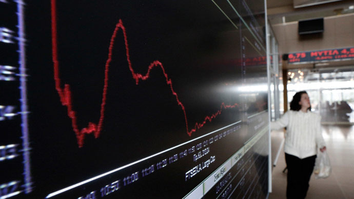 Biggest Greek stock market drop since 1987 over surprise election